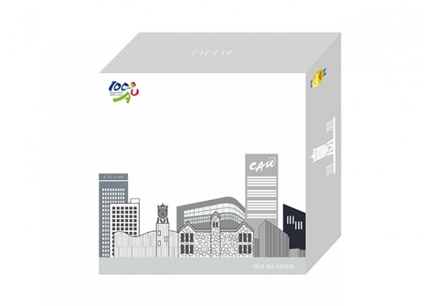 중앙대학교 CAU LAB 화장품 패키지 디자인. (사진제공=온유)